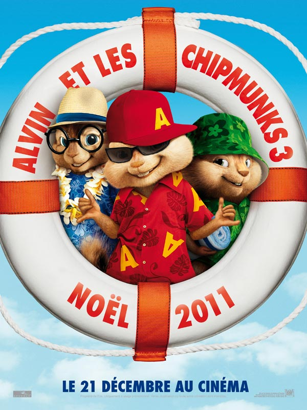 Alvin et les Chipmunks 3 en streaming