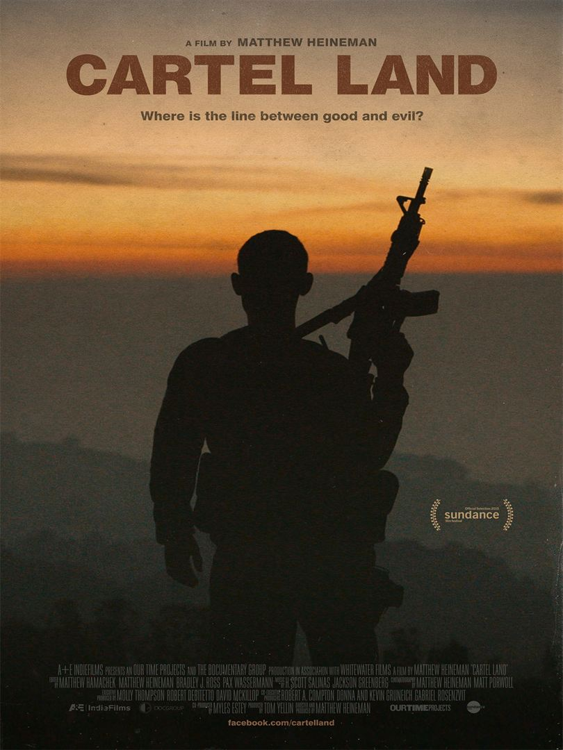 Cartel Land affiche