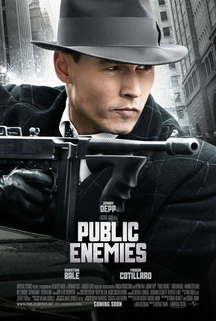 Download Public Enemies FRENCH Poster