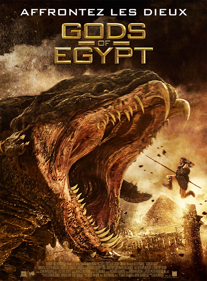 GODS OF EGYPT en streaming uptobox