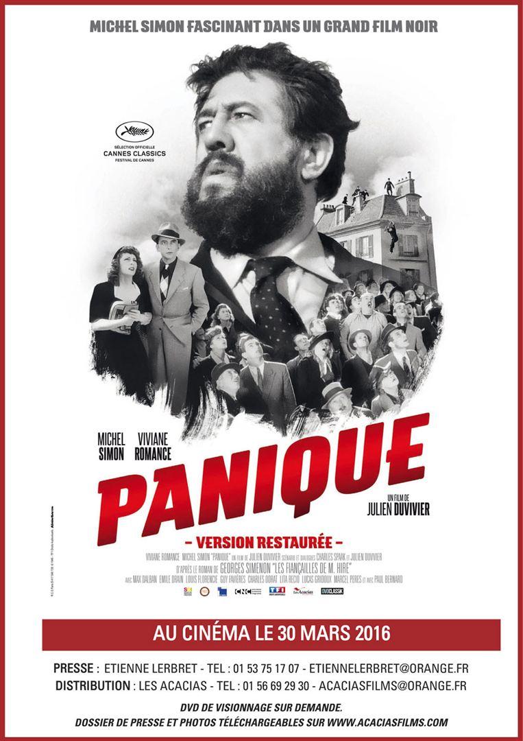 PANIQUE</br>(Les films du répertoire)