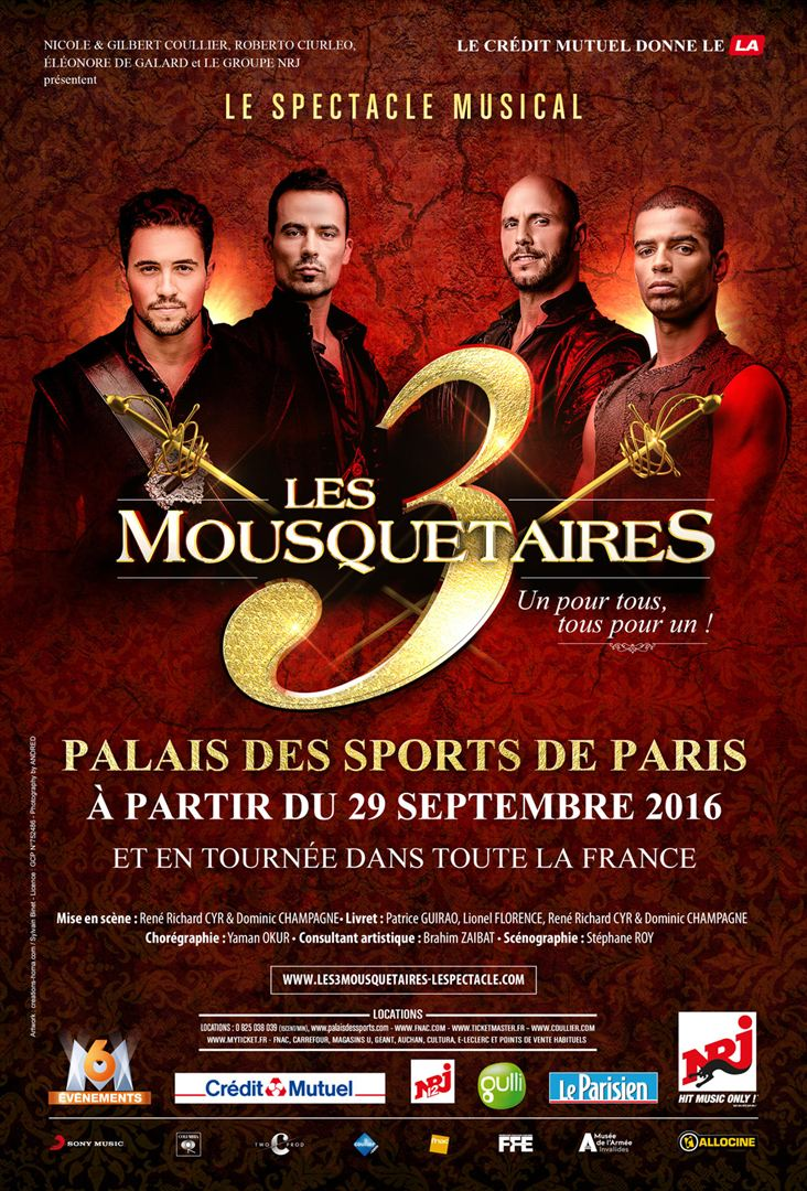 Les 3 Mousquetaires  2016 FRENCH