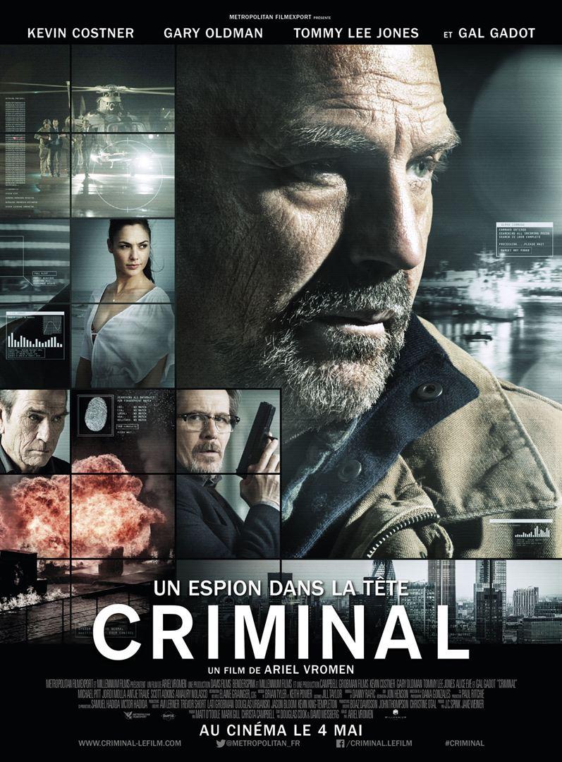Criminal – Un espion dans la tête en streaming