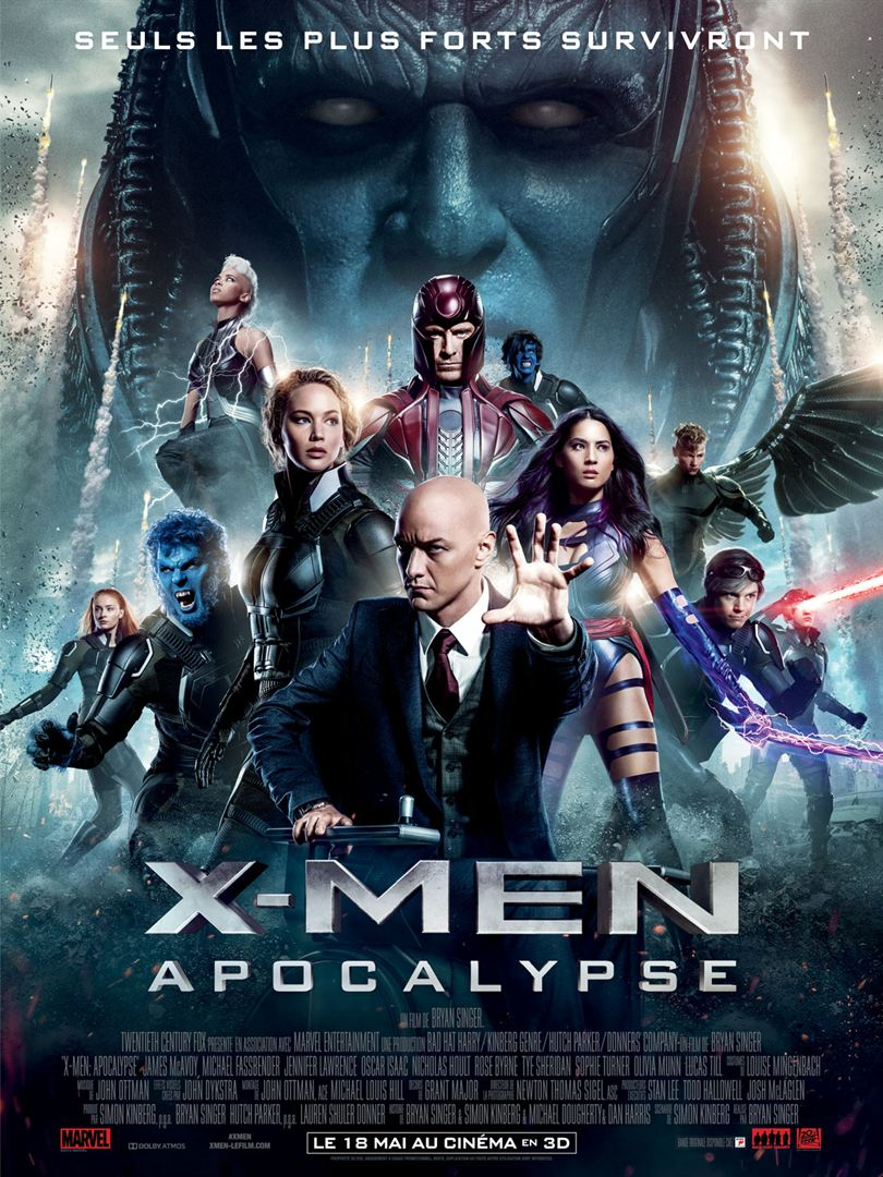 X-MEN: APOCALYPSE en streaming uptobox