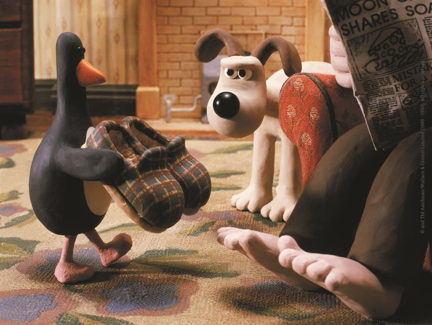 Wallace & Gromit : Les Inventuriers : Photo