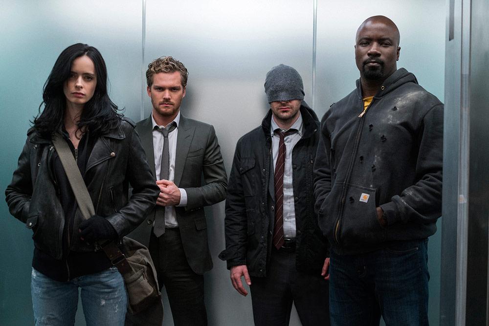 [Séries TV] Marvel's The Defenders (mini-série) 432821
