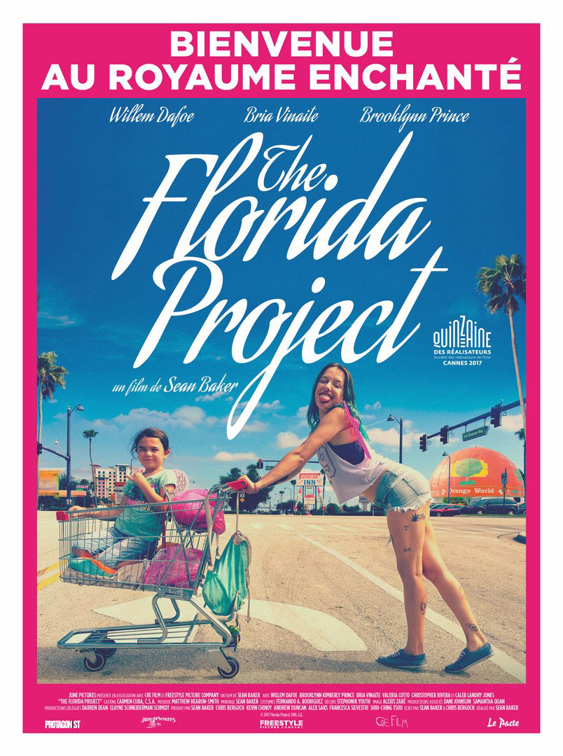 Affiche française du film THE FLORIDA PROJECT