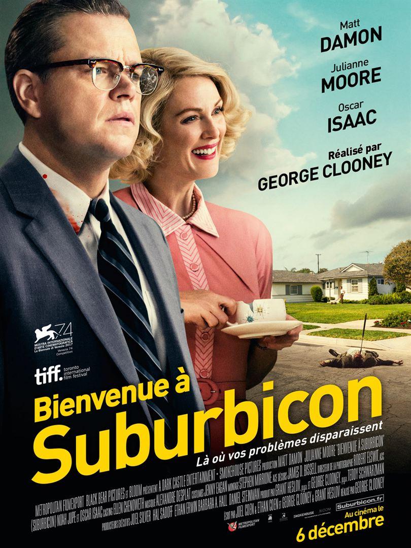 Affiche du film Bienvenue à Suburbicon