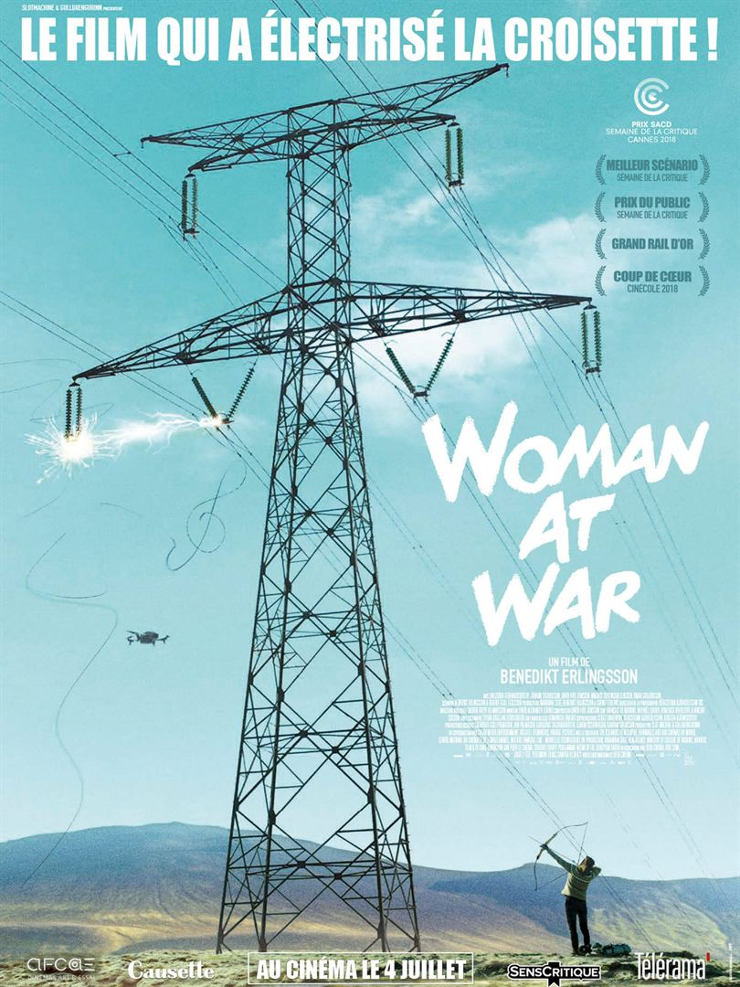 Woman at war affiche