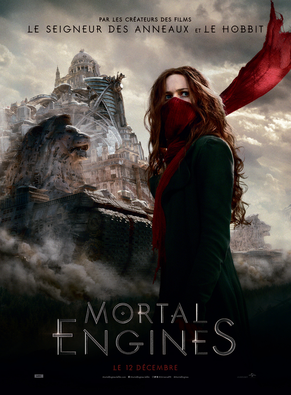 Mortal engines affiche