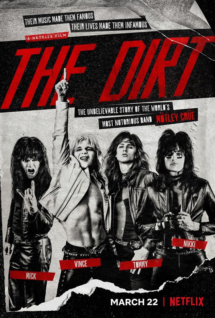 The dirt Netflix affiche