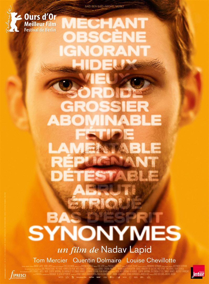 Synonymes film affiche