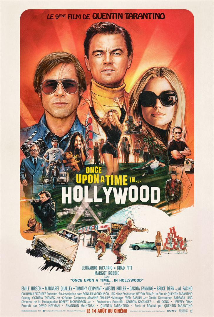Once Upon A Time In Hollywood, Quentin Tarantino, Brad Pitt, Leonardo DiCaprio, Margot Robbie