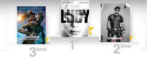 Box Office France: Lucy de Luc Besson encore et toujours en tête