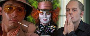Johnny Depp en 43 looks !