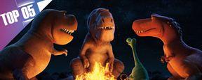 Le Top 5 des dinosaures animés