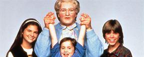 Robin Williams très émouvant dans des scènes coupées inédites de Madame Doubtfire