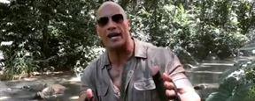Jumanji : la vidéo où Dwayne Johnson part à l'aventure sur le tournage !