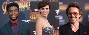 Avengers : avant d'affronter Thanos, Scarlett Johansson, Robert Downey Jr. et Chadwick Boseman prennent la pose