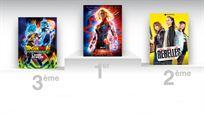 Captain Marvel franchit le cap des 2 millions d'entrées au box-office France