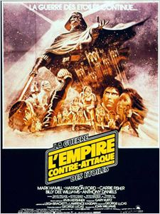 Star Wars : Episode V - L'Empire contre-attaque affiche
