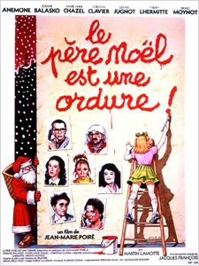Le Père Noël est une ordure affiche
