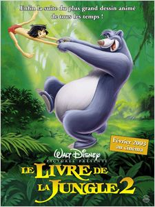 Le Livre de la Jungle 2 - 2003 affiche