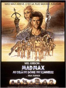 Mad Max 3 au-delà du Dôme du Tonnerre affiche