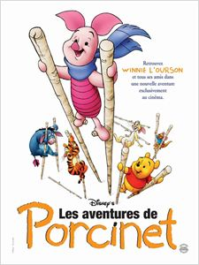 Les Aventures De Porcinet - 2003 affiche