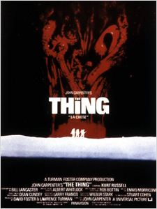 The Thing 1982 affiche