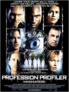 Profession profiler affiche