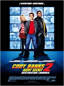 Cody Banks agent secret 2 destination Londres affiche