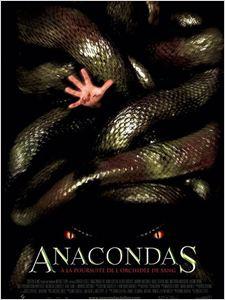 Anacondas 2 : à la poursuite de l'orchidée de sang affiche