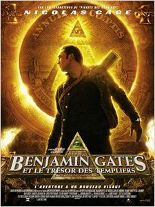 Benjamin Gates et le trésor des Templiers affiche