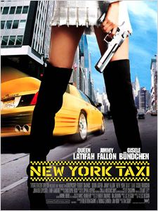 New York taxi affiche