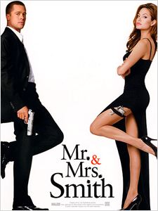 Mr. & Mrs. Smith affiche