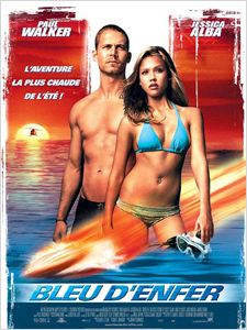 Bleu d'enfer (Into the Blue) affiche