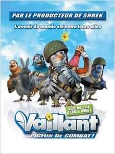 Vaillant, pigeon de combat ! affiche