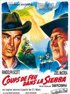 Coups de feu dans la Sierra affiche