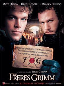 Les Frères Grimm affiche