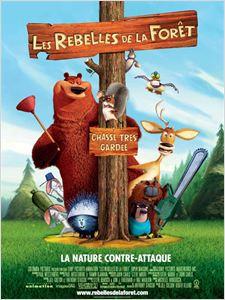 Les Rebelles de la forêt affiche