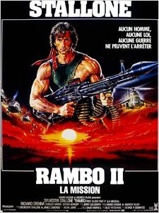 Rambo II : la mission affiche