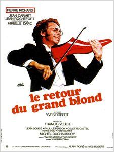 Le Retour du grand blond affiche