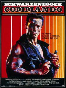 Commando 1986 affiche
