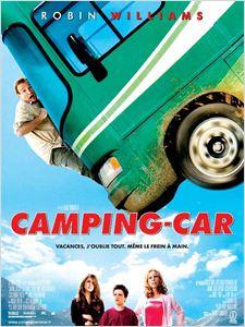 Camping car affiche