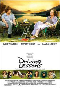 Leçons de conduite affiche