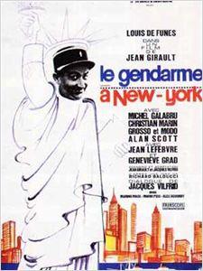 Le Gendarme à New York affiche
