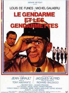 Le Gendarme et les gendarmettes affiche