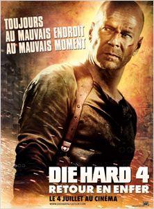 Die Hard 4 - retour en enfer affiche
