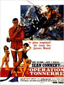 James Bond : Opération Tonnerre affiche